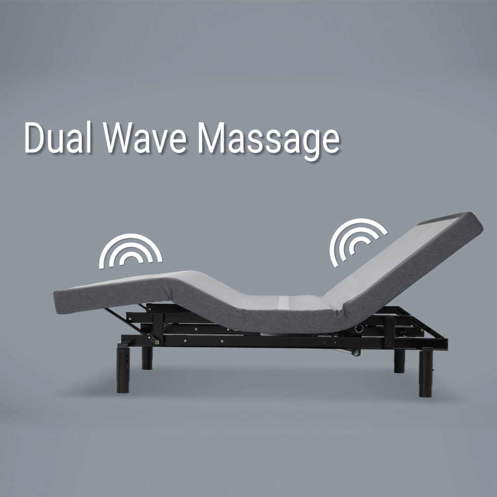 Dual Wave Massage Adjustable Beds